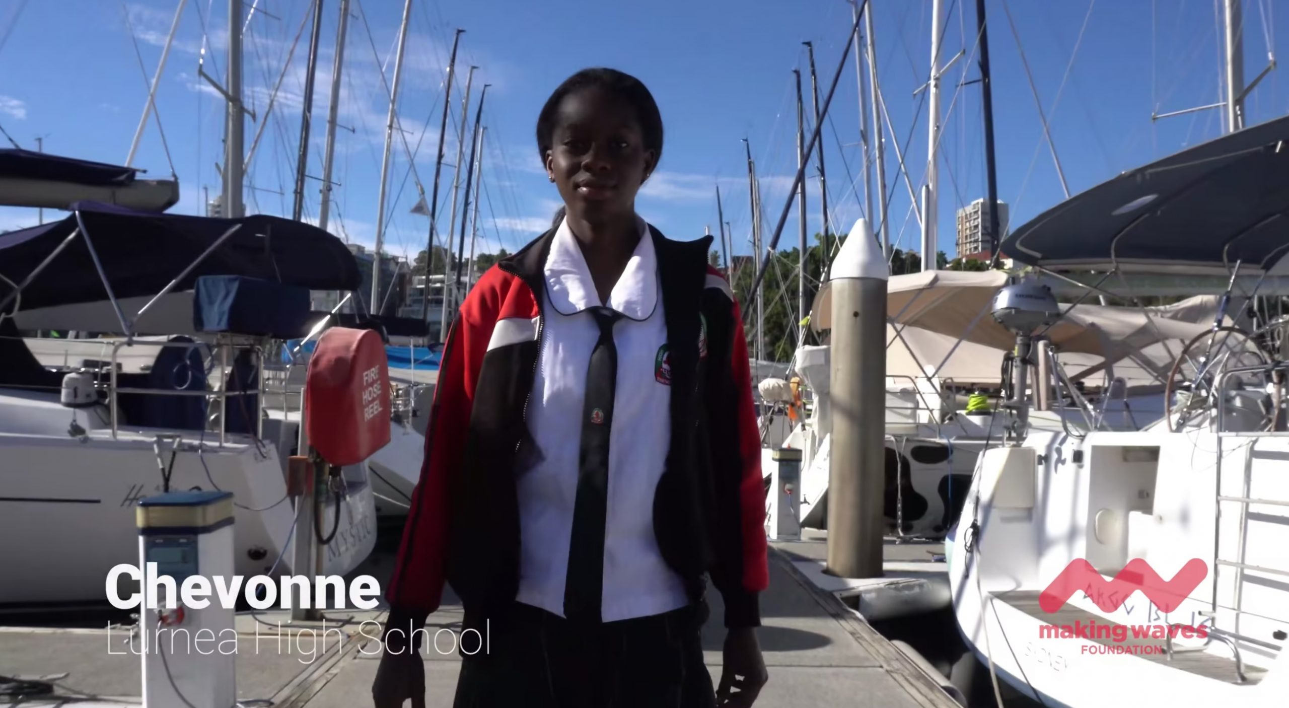 Making Waves with Chevonne
